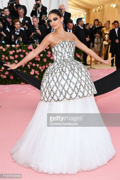 Sara Sampaio attends The 2019 Met Gala Celebrating Camp Notes on Fashion at Metropolitan Museum of Art on May 06 2019 in New York City