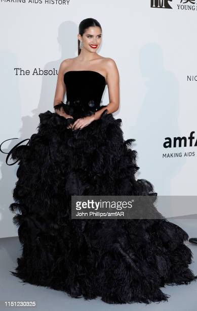 Sara Sampaio attends the amfAR Cannes Gala 2019 at Hotel du Cap-Eden-Roc on May 23, 2019 in Cap d'Antibes, France.
