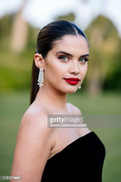 Sara Sampaio attends the amfAR Cannes Gala 2019 at Hotel du CapEdenRoc on May 23 2019 in Cap d'Antibes France