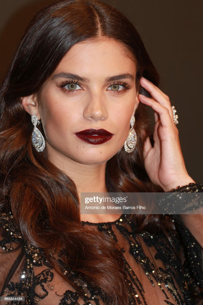 Sara Sampaio attends the Chopard Party during the 70th annual Cannes Film Festival at on May 19, 2017 in Cannes, France.