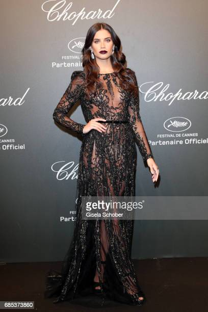 "Sara Sampaio attends the Chopard ""SPACE Party"" hosted by Chopard's copresident Caroline Scheufele and Rihanna at Port Canto on May 19 in Cannes France"