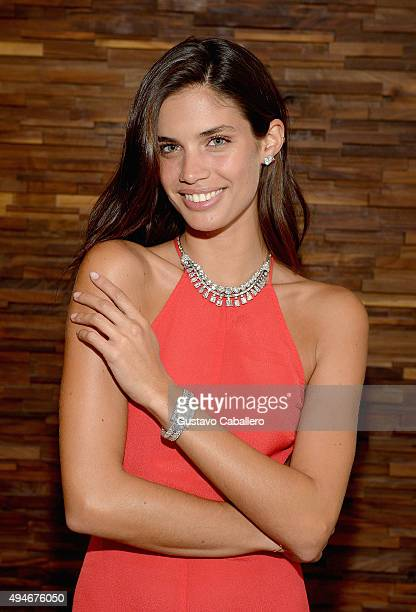 Sara Sampaio attends the Haute Time And Jacob And Co NYC Collector Dinner NYC at Limani on October 27 2015 in New York City