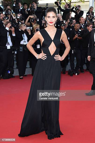 Sara Sampaio attends the Inside Out Premiere during the 68th annual Cannes Film Festival on May 18 2015 in Cannes France