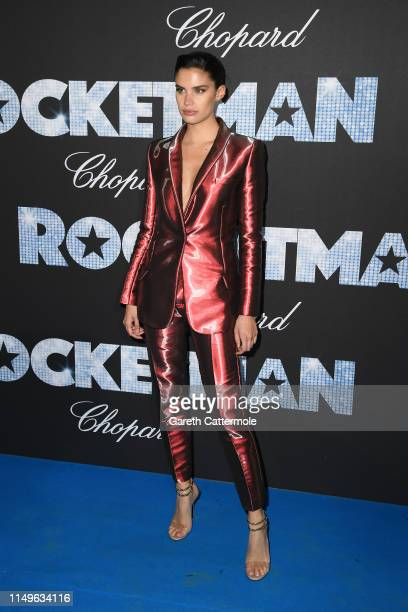 Sara Sampaio attends the Rocketman Gala Party during the 72nd annual Cannes Film Festival on May 16 2019 in Cannes France