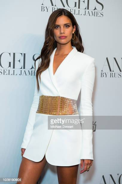 Sara Sampaio attends the Russell James 'Angels' book launch & exhibit at Stephan Weiss Studio on September 6, 2018 in New York City.
