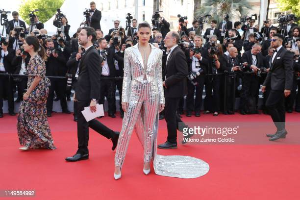 Sara Sampaio attends the screening of Rocketman during the 72nd annual Cannes Film Festival on May 16 2019 in Cannes France