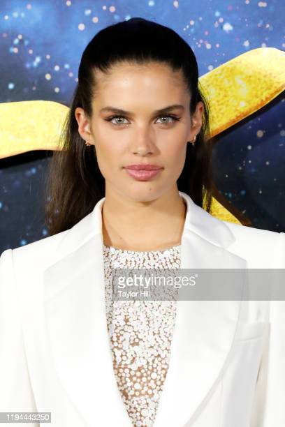 Sara Sampaio attends the world premiere of Cats at Alice Tully Hall Lincoln Center on December 16 2019 in New York City