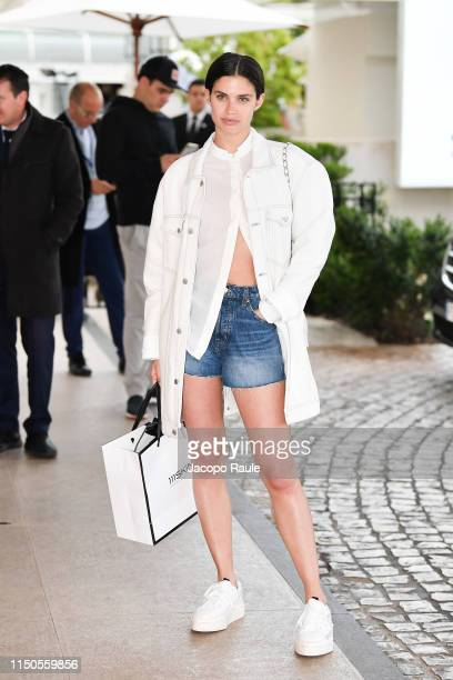 Sara Sampaio is seen during the 72nd annual Cannes Film Festival at on May 20 2019 in Cannes France