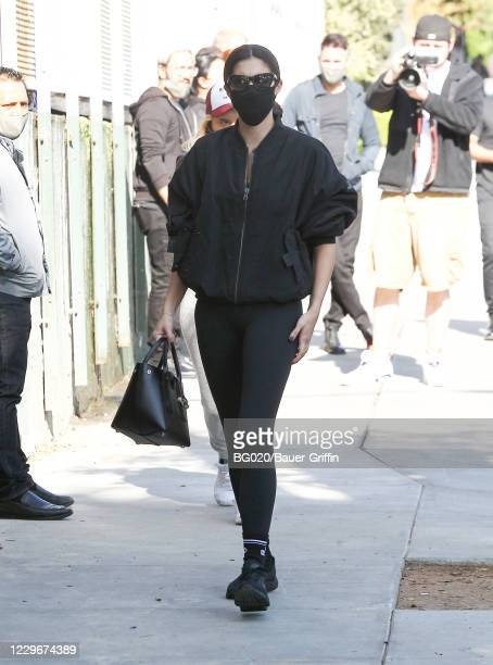 Sara Sampaio is seen on November 18 2020 in Los Angeles California