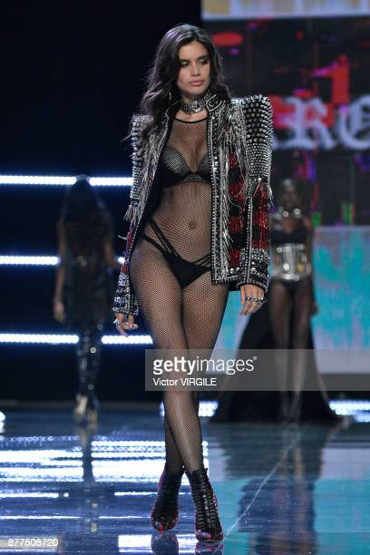 Sara Sampaio walks the runway at the 2017 Victoria's Secret Fashion Show In Shanghai Show at MercedesBenz Arena on November 20 2017 in Shanghai China