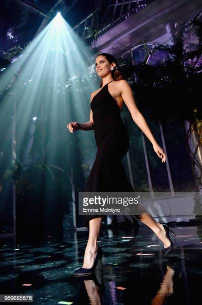 Sara Sampaio walks the runway at the amfAR Gala Cannes 2018 at Hotel du CapEdenRoc on May 17 2018 in Cap d'Antibes France