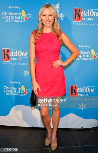 Sara Sanderson attends the Children's Hospital of Los Angeles Christmas In September Toy Drive at The Abbey on September 24 2019 in West Hollywood...