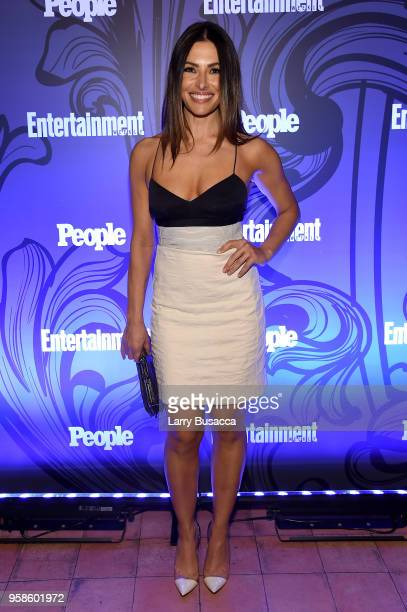 Sara Shahi of Reverie attends Entertainment Weekly PEOPLE New York Upfronts celebration at The Bowery Hotel on May 14 2018 in New York City