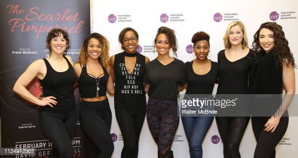 Sara Shepard Alysha Deslorieux Yasmeen Sulieman Ashley Blanchet TyNia Brandon Dana Costello and Ashley Loren attend the Meet the Cast of The MCP...