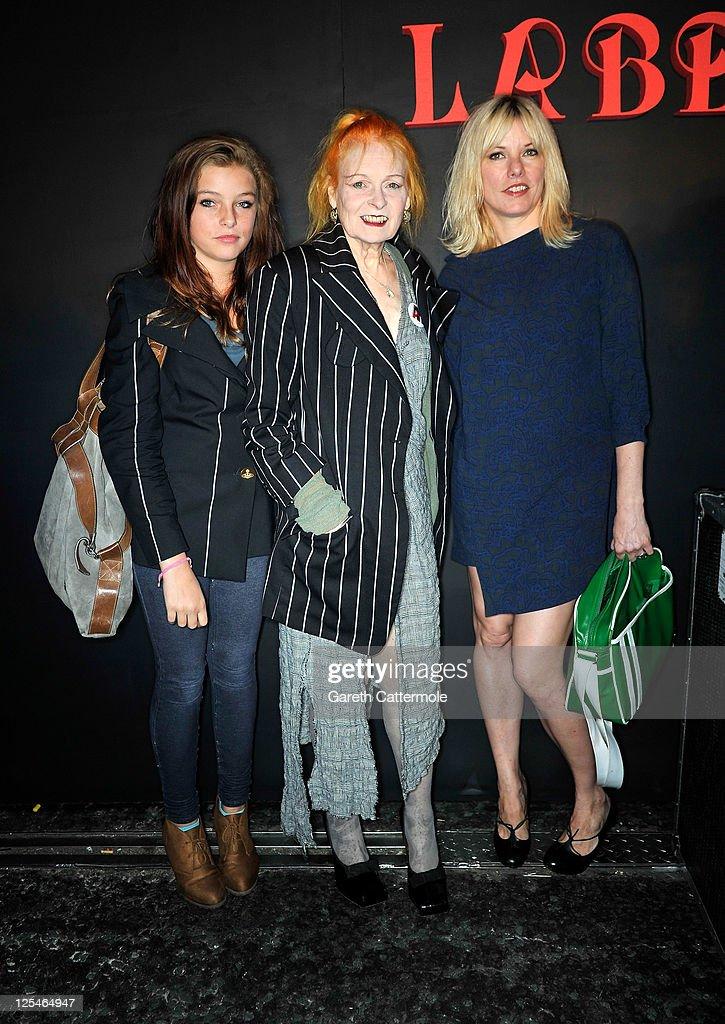 Vivienne Westwood: Backstage- LFW Spring/Summer 2012 : News Photo