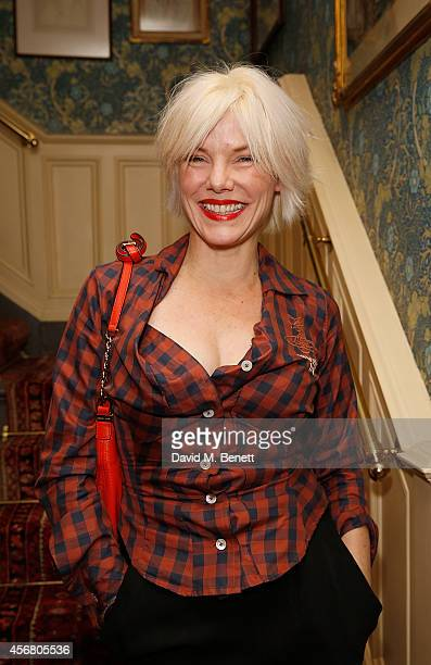 Sara Stockbridge at Mark's Club for the Vivienne Westwood Autobiography Launch on October 7 2014 in London England