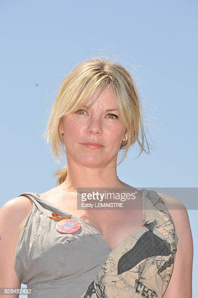 Sara Stockbridge at the photo call of The Making Of Plus One during 62nd Cannes Film Festival