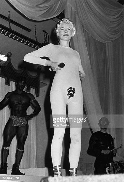 Sara Stockbridge attends Love Ball 2 AIDS Benefit on May 22 1991 at Roseland in New York City