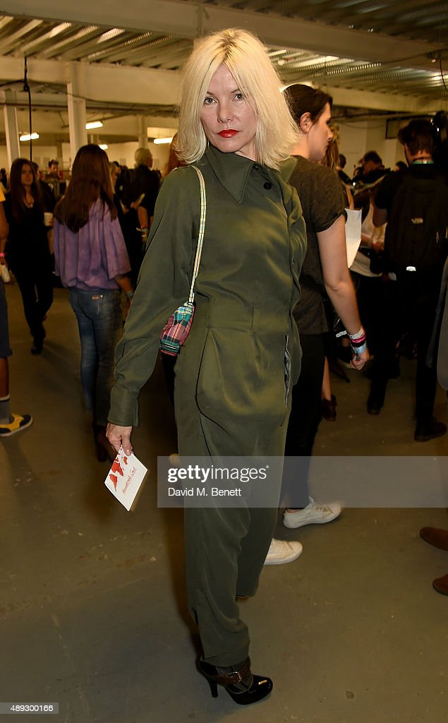 Vivienne Westwood Red Label - Backstage and Fash Mob - LFW SS16 : News Photo