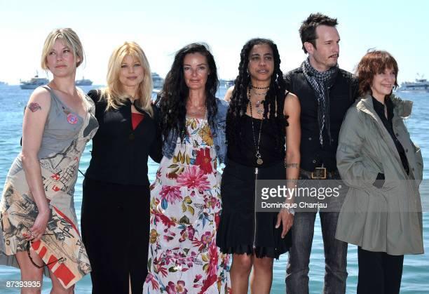 Sara Stockbridge Donna D'Errico director Mary Mcguckian writer SuzanLori Parks Michael Eklund and Amanda Plummer attend The Making of Plus One Photo...