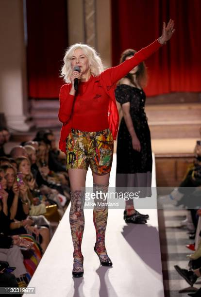 Sara Stockbridge walks the runway at the Vivienne Westwood show during London Fashion Week February 2019 on February 17 2019 in London England