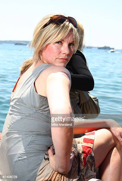 Sara Stockbridgeattends The Making of Plus One Photo Call at the Majestic Hotel during the 62nd Annual Cannes Film Festival on May 16 2009 in Cannes...