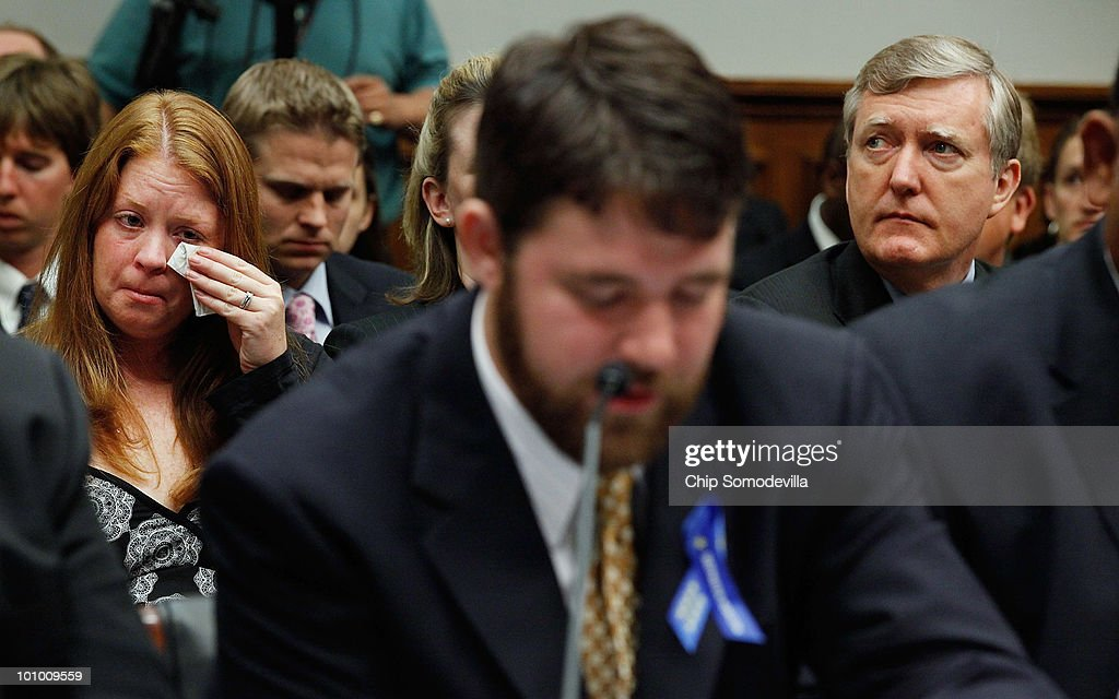 Oil Rig Disaster Survivors And Family Of Victims Testify At House Hearing : News Photo
