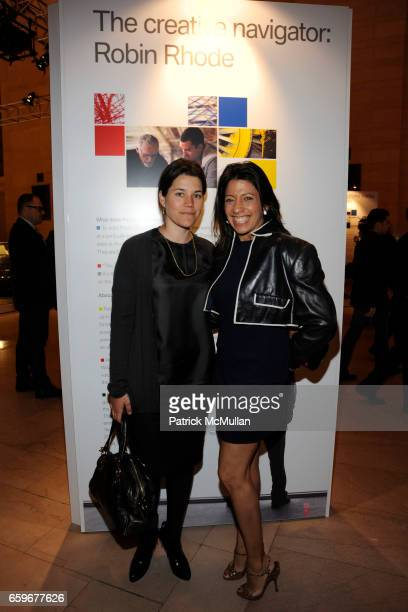 Sara Switzer and Lisa Anastos attend VANITY FAIR and BOB COLACELLO Celebrate the Arrival of the BMW Art Car World Tour Free Public Art Installation...
