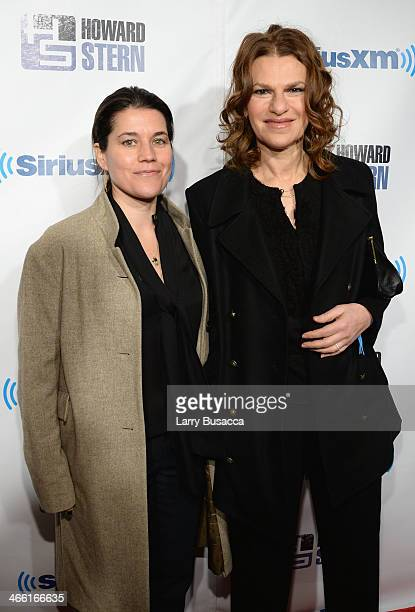 Sara Switzer and Sandra Bernhard attend Howard Stern's Birthday Bash presented by SiriusXM produced by Howard Stern Productions at Hammerstein...