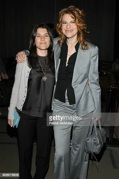 Sara Switzer and Sandra Bernhard attend THE CINEMA SOCIETY and THE WALL STREET JOURNAL after party for Away from Her at Soho Grand Hotel on May 2...