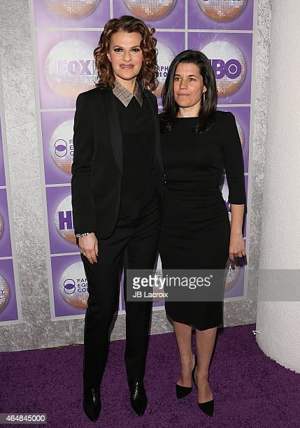 Sara Switzer and Sandra Bernhard attend the Family Equality Council's Los Angeles Awards Dinner held at the Beverly Hilton Hotel on February 28 2015...