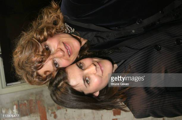 Sara Switzer and Sandra Bernhard during WedRock A Star Studded Benefit Concert for Freedom for Same Sex Couples to Marry at Crobar in New York City...