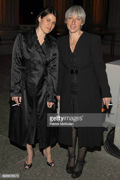 Sara Switzer and Sara Marks attend VANITY FAIR Tribeca Film Festival Party hosted by Graydon Carter and Robert DeNiro at The State Supreme Courthouse...