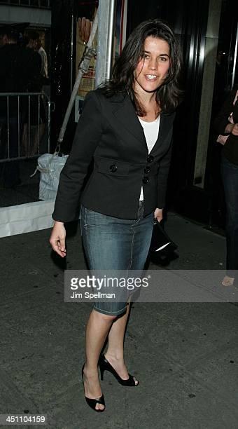 Sara Switzer during Fahrenheit 9/11 New York Screening Outside Arrivals at Ziegfeld Theater in New York City New York United States