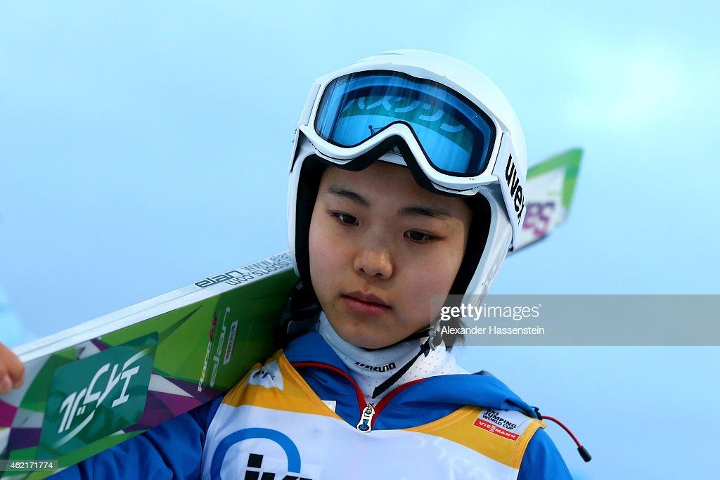 Women Ski Jumping World Cup : News Photo