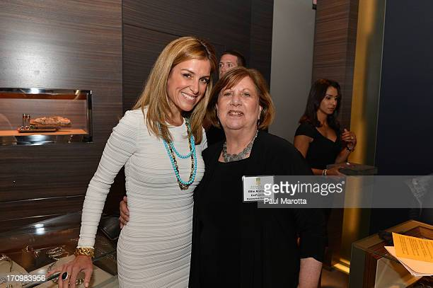 Sara Underwood Fox 25 Host and Anchor and Ellie Anbinder Art beCAUSE Executive Director and CoFounder attend the David Yurman Boston Art beCAUSE...