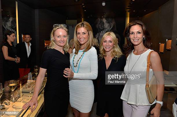 Sara Underwood Fox 25 Host and Anchor and guests attend the David Yurman Boston Art beCAUSE Breast Cancer Foundation Event on June 20 2013 in Boston...