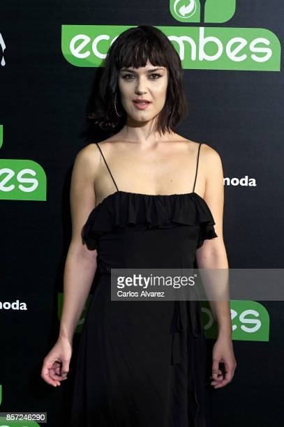 Sara Vega attends 'An Inconvenient Sequel Truth to Power' premiere at the Callao cinema on October 3 2017 in Madrid Spain