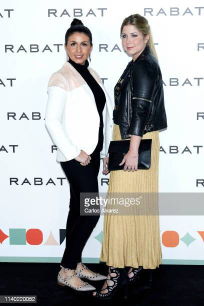 Sara Verdasco and Ana Verdasco attend Rabat's Jewelry new collection presentation at Bless Hotel on April 03 2019 in Madrid Spain