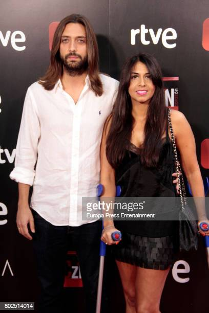 Sara Verdasco and Juan Carmona attends 'Corazon' TV Programme 20th Anniversary at Alma club on June 27 2017 in Madrid Spain