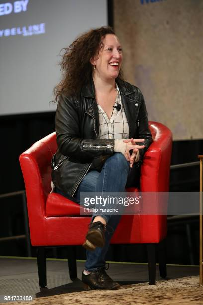 Sara Vilkomerson attends the Next Gen Panel at the 4th Annual Bentonville Film Festival Day 4 on May 4 2018 in Bentonville Arkansas