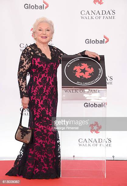 Sara Waxman wife of Actor and Director Al Waxman attends the 2016 Canada's Walk Of Fame Awards at Allstream Centre on October 6 2016 in Toronto Canada