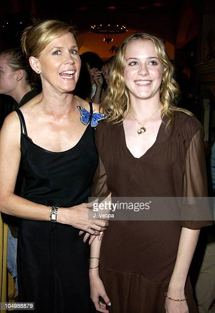 Sara Wood and Evan Rachel Wood during 'Simone' Premiere AfterParty at Napa Grille in Westwood California United States
