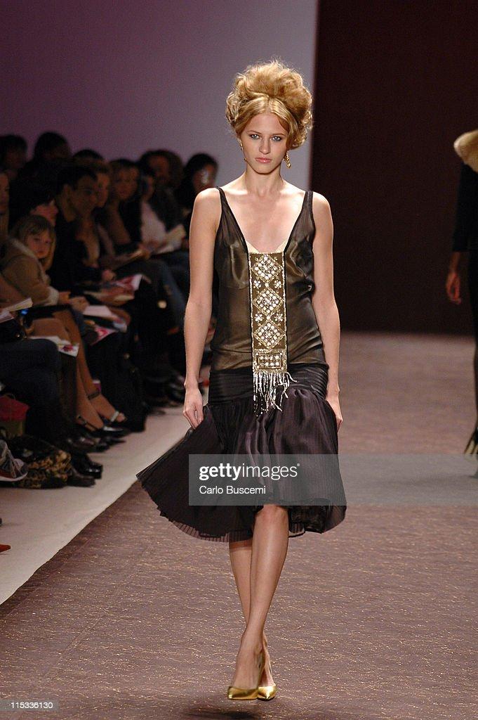 Olympus Fashion Week Fall 2005 - Tracy Reese - Runway