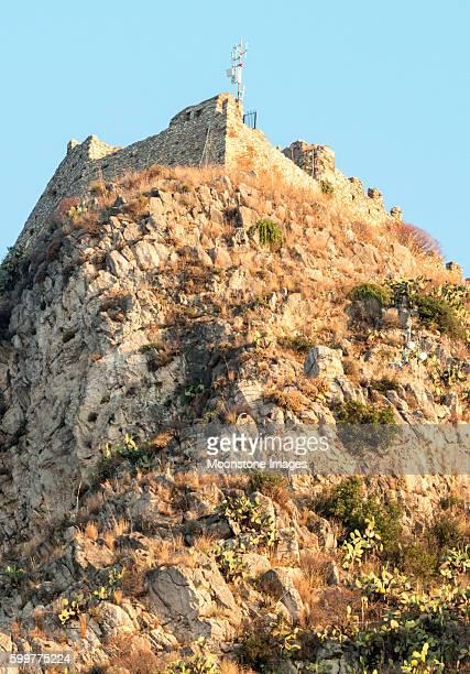 Saracen Castle in Taormina, Sicily
