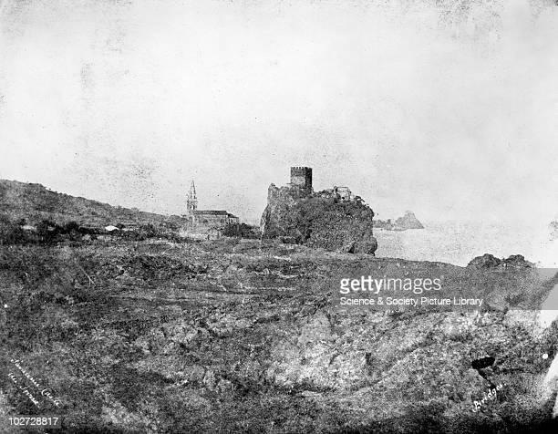 Saracenic Castle Aci Trissa Sicily Italy 1846 Saracenic Castle Aci Trissa Sicily Italy 1846 Calotype by Reverend George Wilson Bridges Reverend...