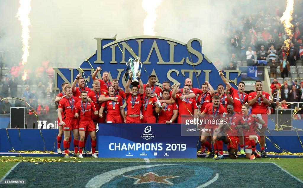 Saracens v Leinster - Heineken Champions Cup Final : ニュース写真