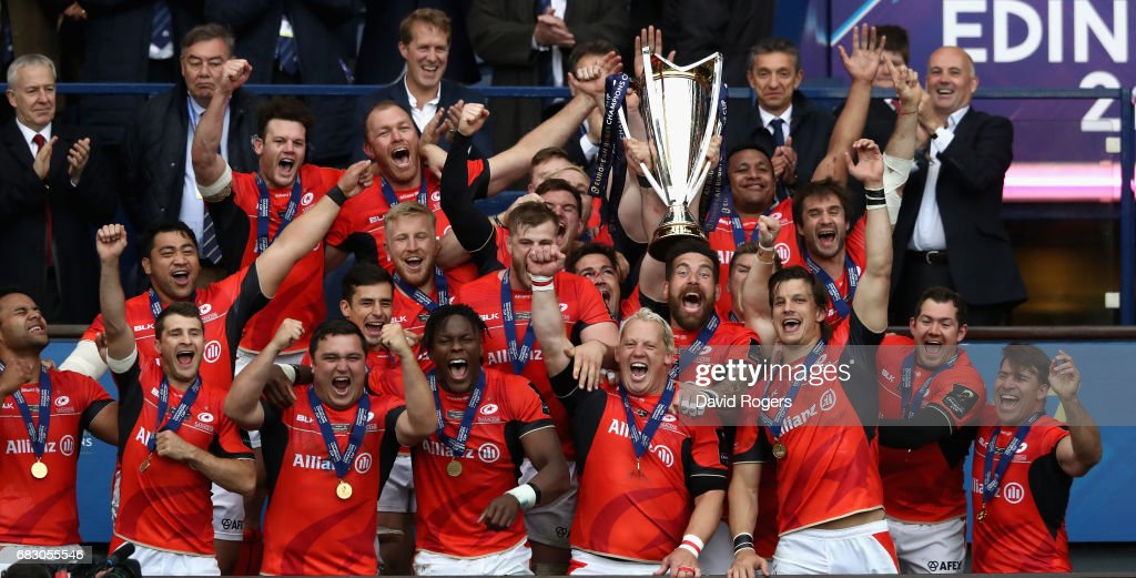 ASM Clermont Auvergne v Saracens - European Rugby Champions Cup Final : News Photo