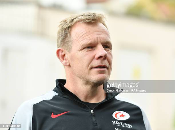 Saracens Director of Rugby Mark McCall during the Gallagher Premiership match at Ashton Gate, Bristol.