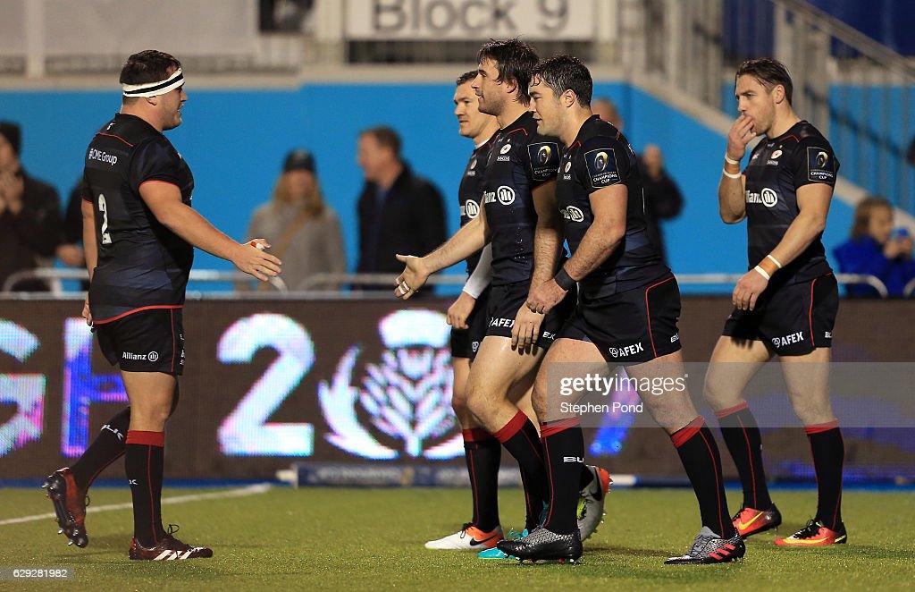 Saracens v Sale Sharks - European Rugby Champions Cup : Nachrichtenfoto